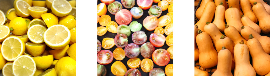 野菜・果物・トマト・レモン・かぼちゃ